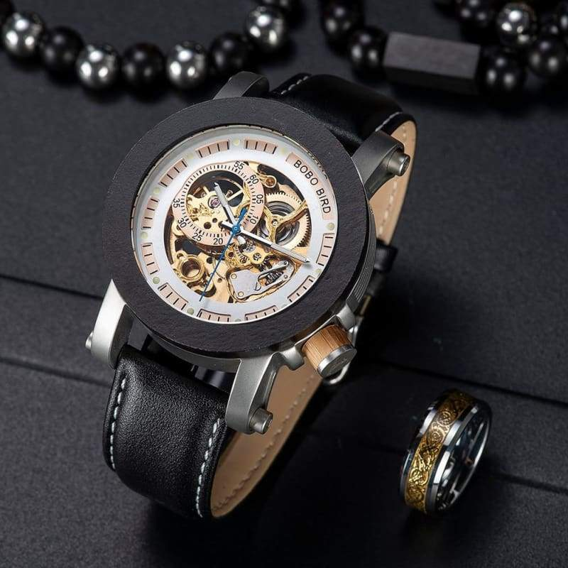 Wooden Watch Automatic For Men and Women - W-K11 - Watches