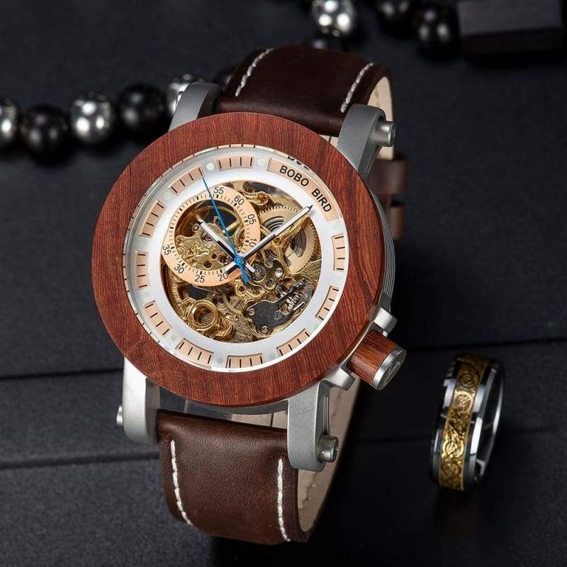 Wooden Watch Automatic For Men and Women - W-K12 - Watches