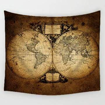 World Map Tapestry - 2 / 150x130cm - Tapestry