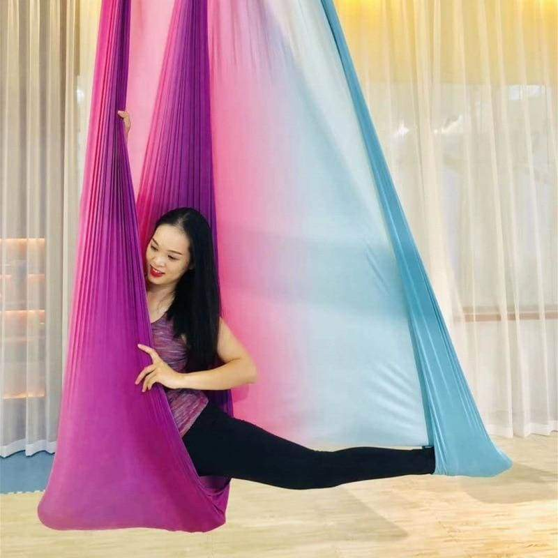 Aerial Anti-gravity Yoga Hammock Just For You - Pink - Gym Fitness