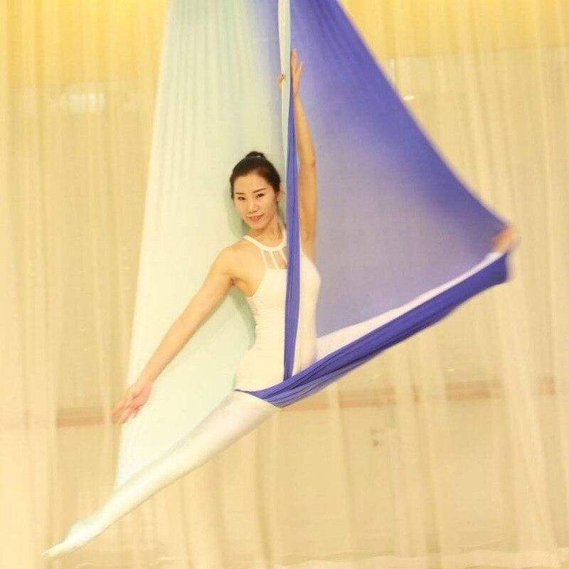 Aerial Anti-gravity Yoga Hammock Just For You - violet - Gym Fitness